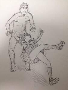 遇到色狼的時候該怎麼辦?工口漫畫家畫的《女子防身術》讓人覺得有點害羞欸,你確定你不是在享受?