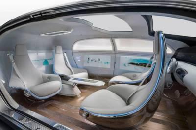 來自未來的無人駕駛車輛,奔馳 F 015 Luxury in Motion 概念車亮相 CES 2015