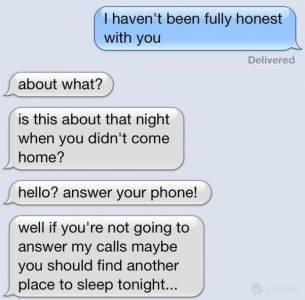 實驗 Line 給情人「有件事我一直瞞著你」之後搞失蹤 1 小時 後果自己承受...