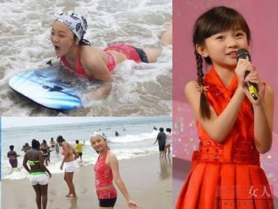 小「徐嬌」曬泳裝照如易容 網友:整容還是修圖