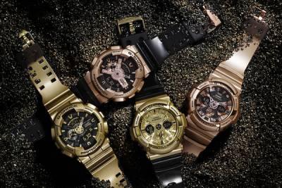 G-SHOCK黑x金酷炫風潮來襲! 4款超人氣大錶徑系列錶款 搶攻早春街頭時尚