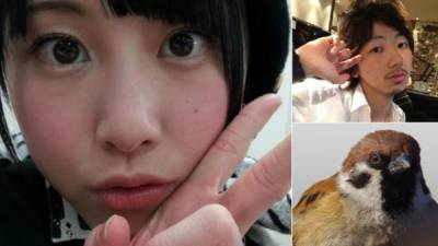 日本妹拍照喜歡鴨子嘴?