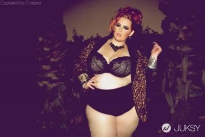 另類豐腴美感 大尺碼女模登《Vogue》備受注目