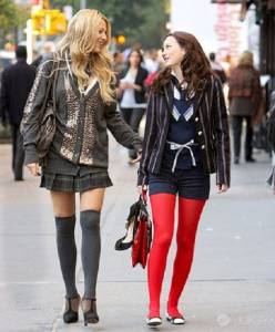 《Gossip girl》兩位女王時尚大PK 誰才是你心中的女王?