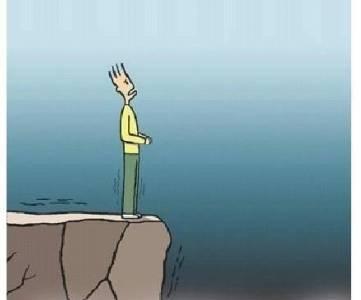 竟然無路可退,你有什麼好懼怕的? 勵志圖