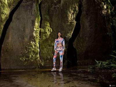 adidas Originals X The Farm Company 時尚天后范冰冰演繹 探索古老亞馬遜叢林的熱帶風情