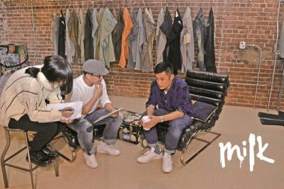 余文樂 XLEVI'S®WORK HARD PLAY HARDER!│MILK潮流誌