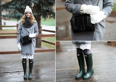 「時尚無設限」防水雨靴一點也不平凡,達人教你雨靴時髦穿搭