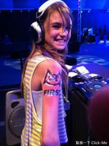 13歲DJ「Elle Morgan」,已是夜店老闆!