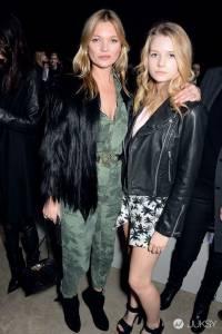 模特兒界永不被打敗的超模 40歲的辣媽Kate Moss獨特混搭風