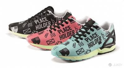 adidas Originals 「ZX FLUX無限延伸計劃」 2015年全新風格 普普風圖騰系列