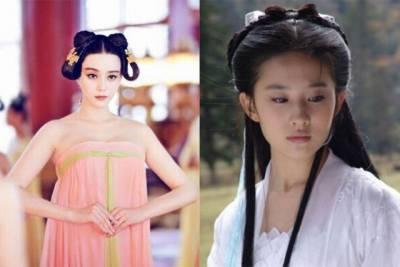 驚!!和「劉亦菲」相比,「范冰冰」竟然慘敗!!看完這些對比照你也會認同!!