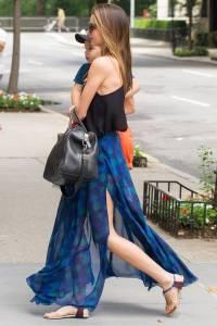 剖析 Miranda Kerr 街拍時尚 為什麼已經當媽了還可以那麼時尚?