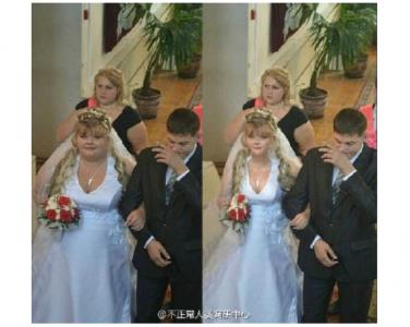 雖然說婚紗照多少都會p一下,但這未免也太誇張了!!