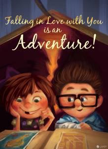 迪士尼角色們歡度情人節 這些甜蜜氛圍你感受到了嗎?