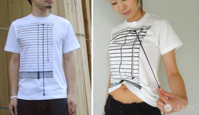 我從未想過T恤也可以這麼惡趣味 網友表示:「好想來一件阿!」