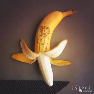 沒有人比他更懂香蕉了 這位藝術家已經達到了神的境界啦...