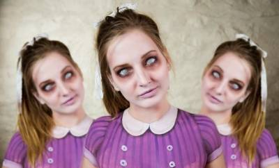 美女自殘!!這些超恐怖的妝容背後,竟是個絕世大美女!!