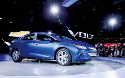 電動鋼砲 Chevrolet Volt