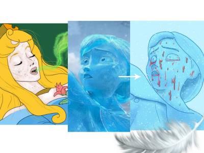 「迪士尼」卡通成人版!!一切是多麼殘酷…安娜早死了!尼莫和爸爸有禁忌關係…