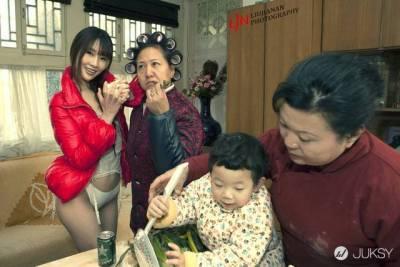 中國攝影師超大膽「致春節」系列攝影:看完我也愛上新年了...(鼻血)