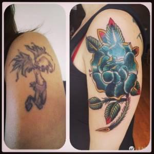 刺青刺壞就沒救了?這些刺青師的「覆蓋藝術」將讓你再次相信魔法的存在...