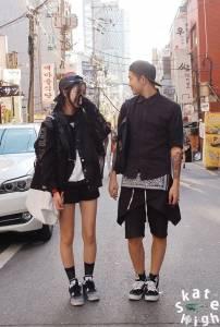 羨煞路人的時尚情侶們!