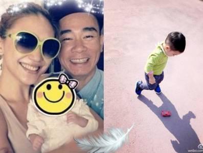 「陳小春」的基因真的太強了!!?他兒子簡直神複製!!
