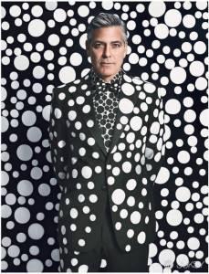 喬治克隆尼難擋圓點魅力 型男必學草間彌生「波卡圓點」穿搭