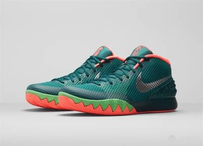 當捕蠅草化身籃球鞋,全新配色款 KYRIE 1 Flytrap 即將上市