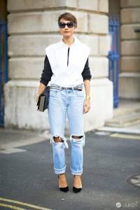 破洞牛仔褲獨領風潮 2015春夏搭配滿分單品