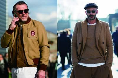 時尚暖男更要學!今年歐美街拍吹起的優雅「駝色」