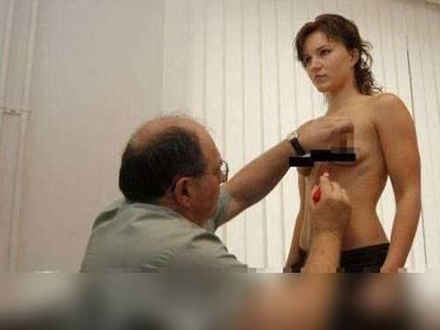 實拍美女隆乳過程...填加的東西嚇到我了!
