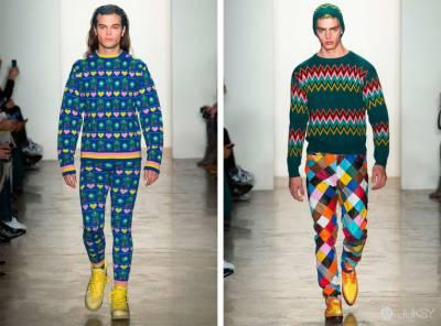 冬裝里的玩味春意,Jeremy Scott 2015 秋冬系列亮相紐約
