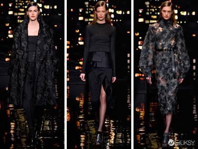暗黑無邊,2015 秋冬紐約時裝周的十個黑色瞬間