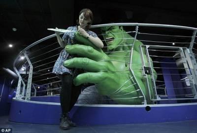 倫敦杜莎夫人蠟像館新增綠巨人等科幻英雄蠟像