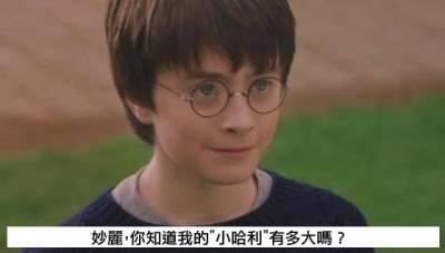 妙麗,你知道小哈利有多大嗎
