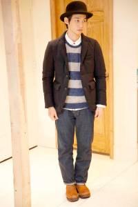穿出冬季日系街頭潮男Fu!3件BEAMS毛呢外套單品搭配推薦│GQ瀟灑男人網