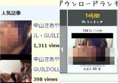 日本未成年少女團體偶像下海一女三男影片遭流出...