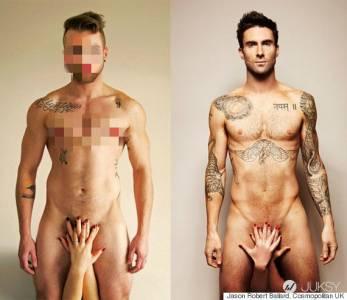 最帥變性人仿效魔力紅主唱 拍攝臉紅心態裸照!