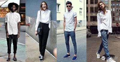 男孩女孩都應該知道的白襯衫5個穿搭重點!
