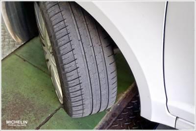 【分享】米其林PS3輪胎5萬公里更換+再續米其林PS3新輪胎使用心得