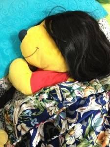 妹妹還在睡
