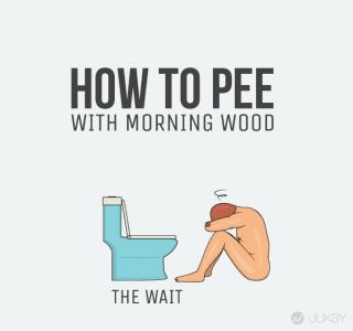 男生早上起床尿尿的煩惱 有了這幾招「一柱擎天」都不怕?