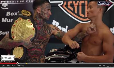 這個看起來猛的拳手,比賽前狠嗆對手!沒想到開賽20秒後就…