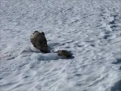 冰封55年的乾屍,竟藏有這樣悲傷的過去,這不是一個人,而是一對相擁的戀人…