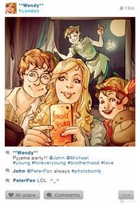 當迪士尼角色都有了Instagram…也太寫實了吧!