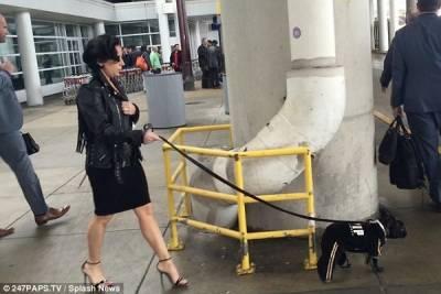 差點認不出來!152公分女神卡卡All Black性感出席巴黎時裝周