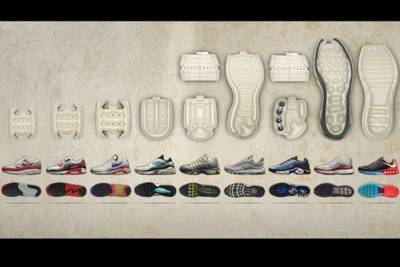 可見式氣墊的演變 一窺 Nike 王牌家族 Air Max 的科技
