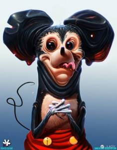 當童話變成夢魘 卡通人物暗黑版本超嚇人!